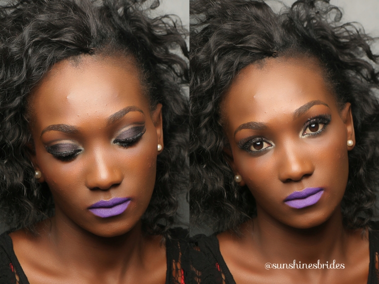 Who doesn't love a cut crease? I love the dramatic effect, especially when you look down.